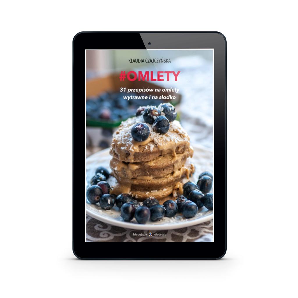 Okładka Ebook #Omlety 31 przepisów na omlety wytrawne i na słodko