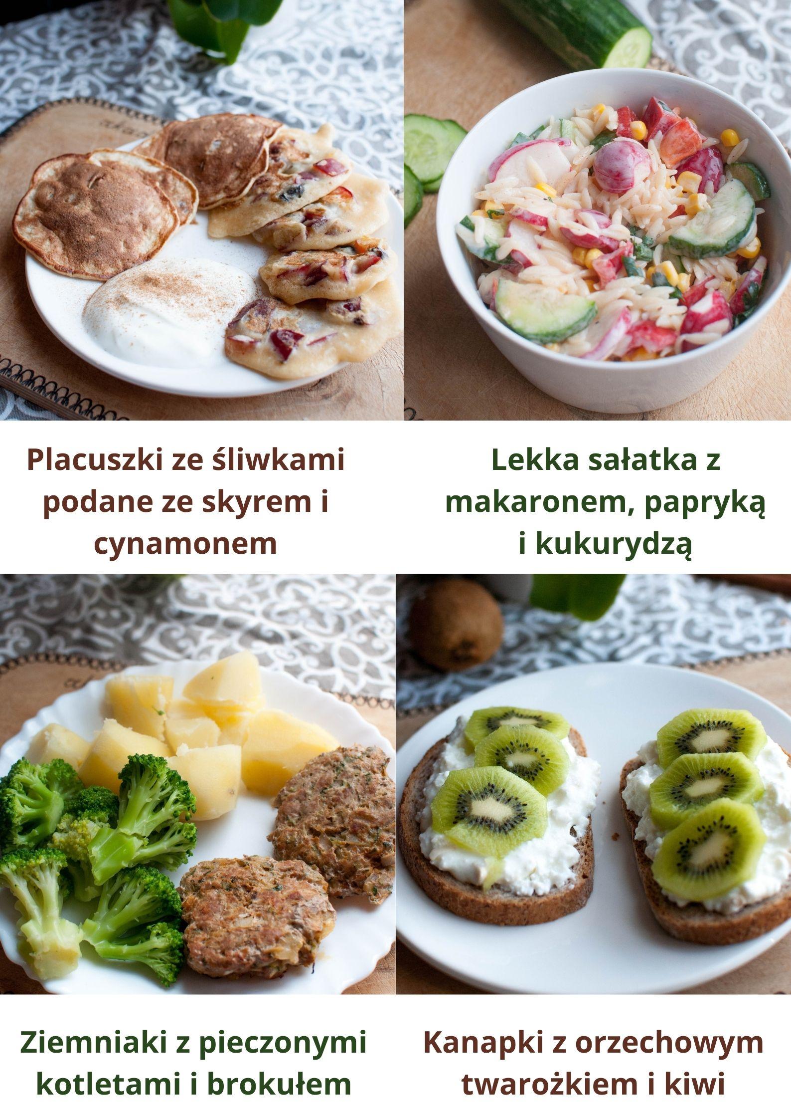 Gotowy jadłospis